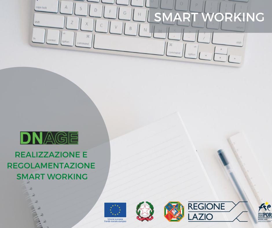 DNAGE - Realizzazione e regolamentazione smart working