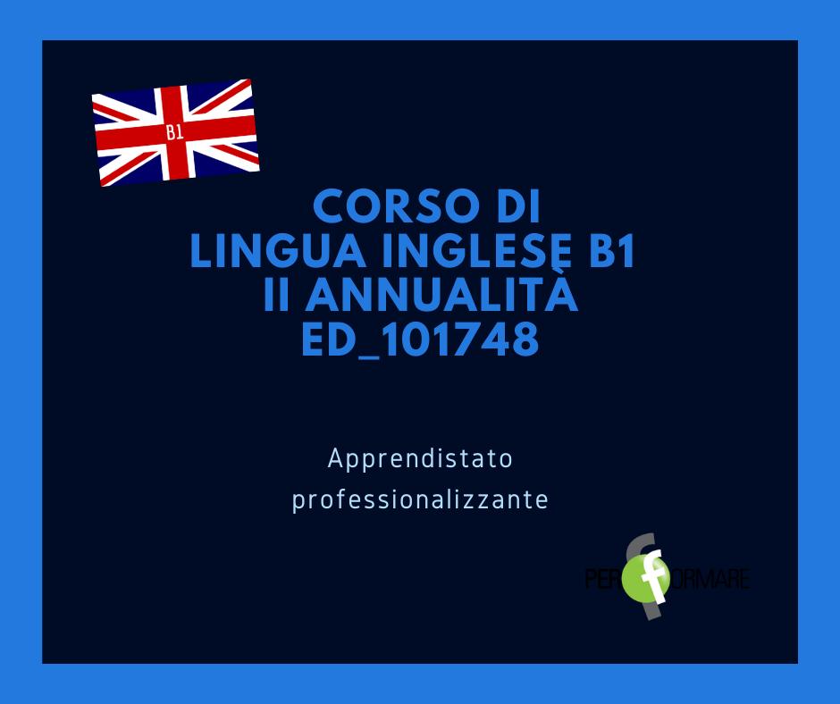 LINGUA INGLESE B1 II ANNUALITA' ED_101748