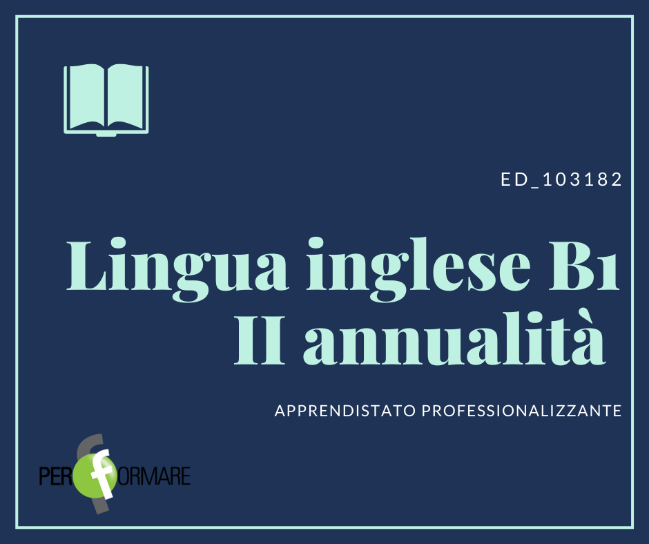 LINGUA INGLESE B1 II ANNUALITA' ED_103182